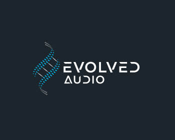 Evolved Audio logo design