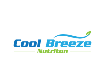 Cool Breeze Nutriton logo design