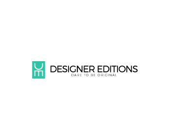 Designer Editions logo design