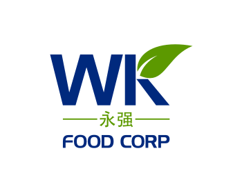 WK Food Corp logo design