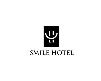 Smile Hotel logo design