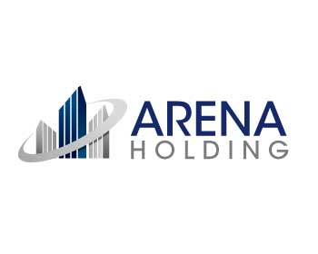 Logo design for Arena Holding GmbH