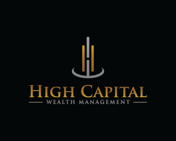 High Capital Wealth Management logo design