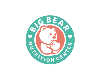Big Bear Nutrition Center logo design