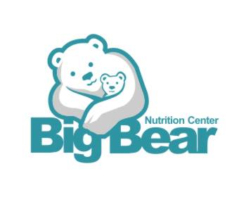 Logo design for Big Bear Nutrition Center