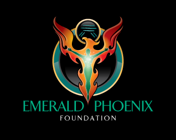 Logo design for Emerald Phoenix Foundation