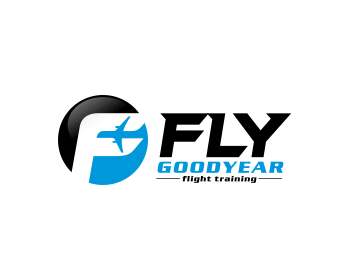 FLY Goodyear logo design