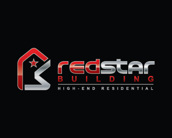 RedSTAR Building. logo design