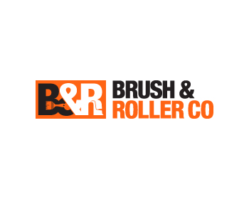 Brush & Roller CO logo design