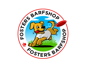 Logo design for Fosters Barfshop
