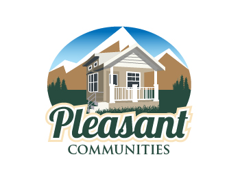 Pleasant Communities Inc. logo design