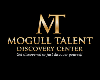 Mogull Talent Discovery Center logo design