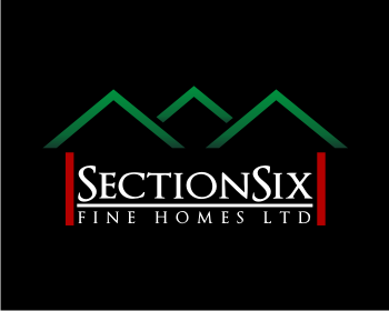 SectionSix Fine Homes Ltd logo design