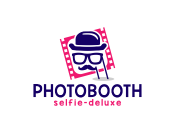 Photobooth logo design