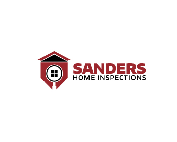 Sanders Home Inspections logo design