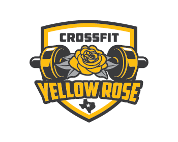 Logo design for CrossFit Yellow Rose