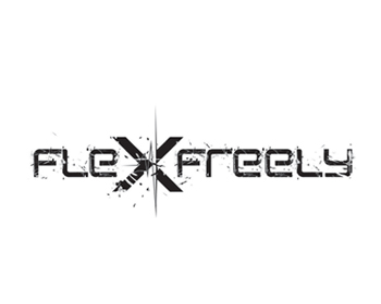 Flex Freely logo design