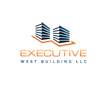 Logo design for Executive West Building LLC