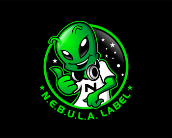 Logo design for N.E.B.U.L.A. Label