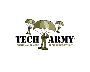 Technology logo design for Tech Army