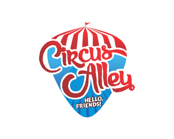 Circus Alley logo design