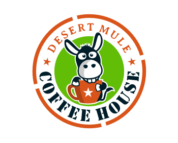 Logo design for Desert Mule Coffee House