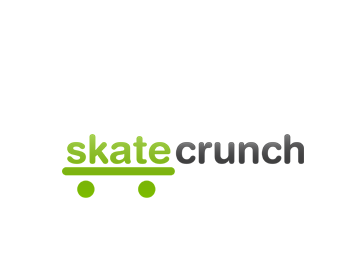 Skate Crunch logo design