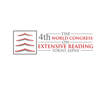 Logo design for The 4th World Congress on Extensive Reading