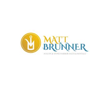 Matt Brunner logo design