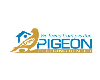 PBC   Pigeon Breeding Center logo design