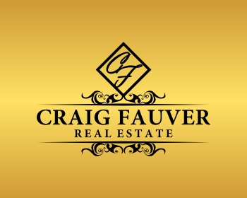 Craig Fauver Real Estate logo design