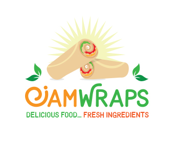 Logo design for JamWraps