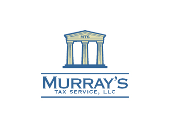 Murray's Tax Service, LLC. logo design