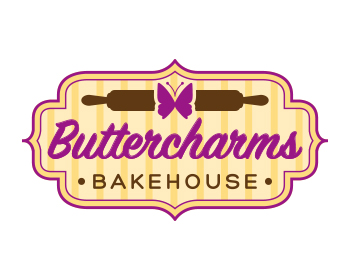 Logo Buttercharms Bakehouse