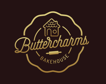 Logo design for Buttercharms Bakehouse