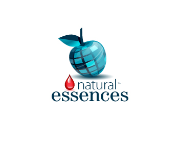 Natural essences logo design