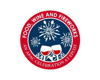 Food, Wine and Fireworks: An APAC Celebration at Epcot® logo design