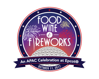 Logo design for Food, Wine and Fireworks: An APAC Celebration at Epcot®