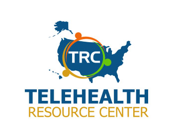 Telehealth Resource Center logo design