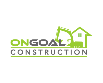OnGoal Construction LLC logo design
