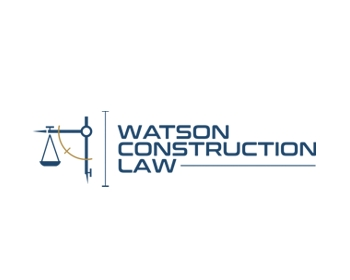 Logo design for Watson Construction Law