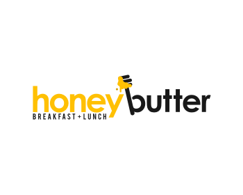 Honey Butter logo design