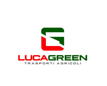 luca green logo design