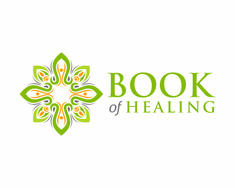 Book of Healing logo design