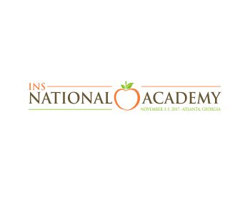INS National Academy logo design