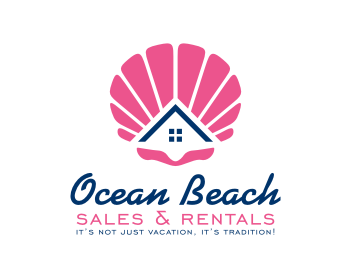 Logo design for Ocean Beach Sales & Rentals