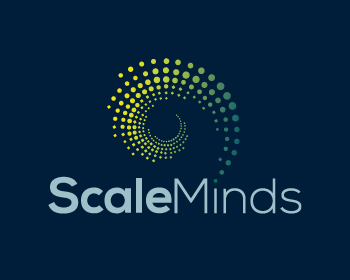 Scale Minds logo design