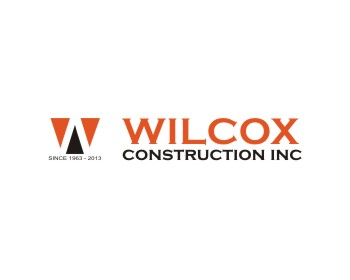 Wilcox Construction, Inc. logo design
