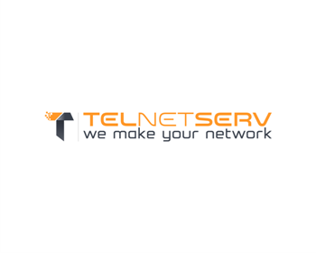 Technology logo design for TELNETSERV