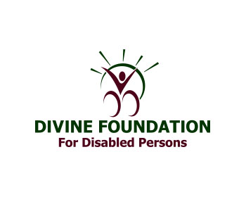 Divine Foundation For Disabled Persons logo design